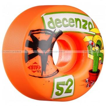 Bones STF Pro Decenzo Cactus Orange 52mm skateboard wielen