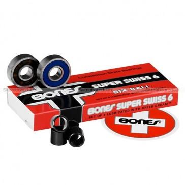 Bones Swiss 6 skateboard bearings