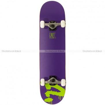 Enuff Logo Purple Mini 7.25 complete skateboard