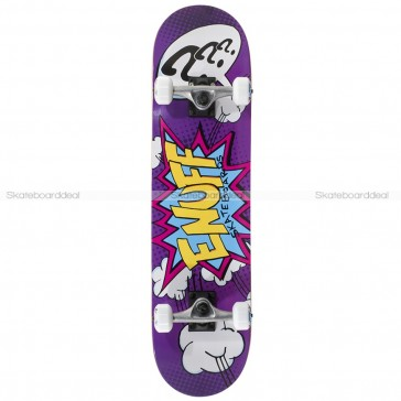 Enuff Pow Purple Mini 7.25 Complete skateboard