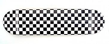Moose Checkered Skateboard Deck 7.5