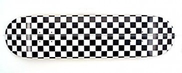 Moose Checkered Skateboard Deck 7.75