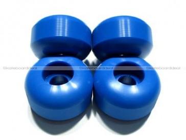 Blank skateboard wheels Blue 54mm