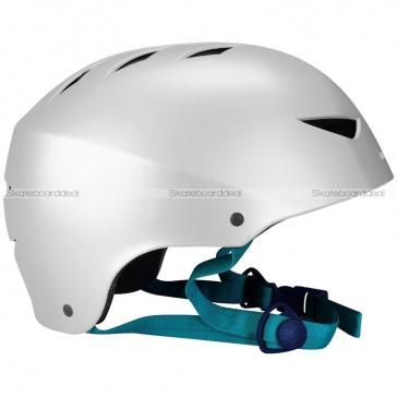 Skateboard Helm AGGR Silver