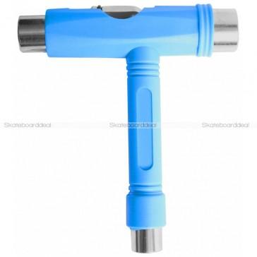 Skateboard T-Tool Set Blue