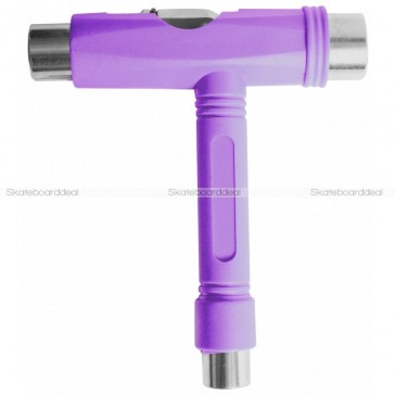 Skateboard T-Tool Set Purple