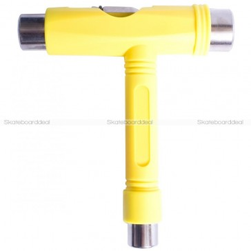 Skateboard T-Tool Set Yellow