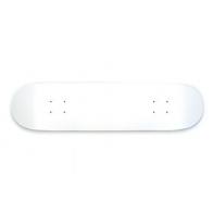 Moose Blank White WWW Complete skateboard