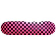 Moose Checkered Pink BSB Complete skateboard
