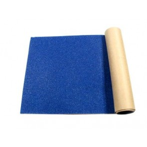 Black Diamond Blue skateboard griptape (9 x 33 inch)
