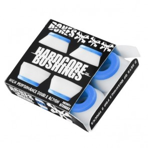 Bones Hardcore Skateboard Bushings - Hard - White (2 Sets)