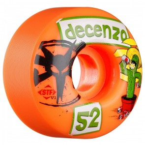 Bones STF Pro Decenzo Cactus Orange 52mm skateboard wielen