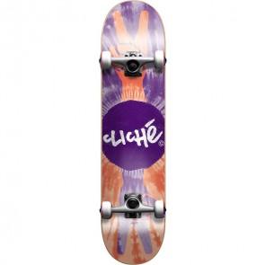 Cliché Peace 7.7 Complete Skateboard