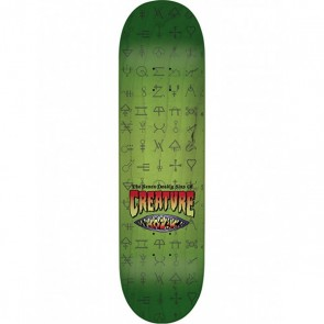 Creature Hitz 7 Deadly Sins by Kozik 8.8 Skateboard Deck