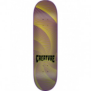 Creature Gravette Hippie Skull III 8.26 skateboard deck