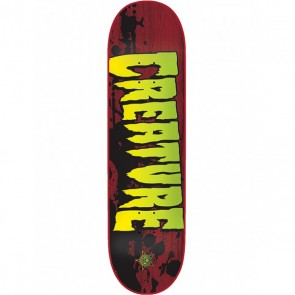 Creature Stained 8.6 Skateboard Deck