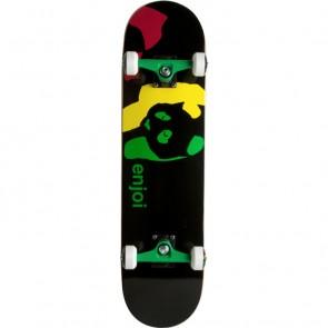 Enjoi Rasta Panda 7.5 Complete Skateboard