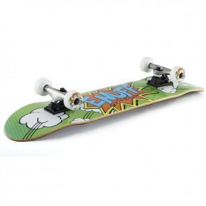 Enuff Pow Green 7.75 Complete skateboard