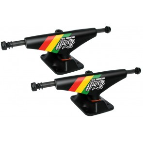 Enuff Rasta Stripe 5.0 skateboard trucks - SET