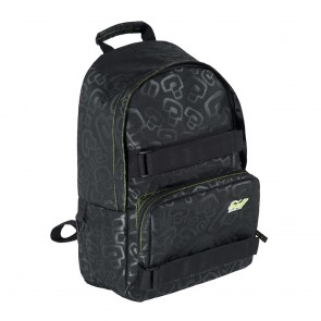 Enuff School Black-Lime Skate Backpack