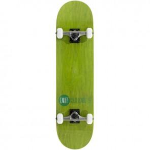 Enuff Logo Stain Green 7.75 complete skateboard