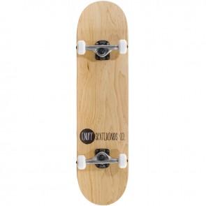 Enuff Logo Stain Natural 7.75 complete skateboard