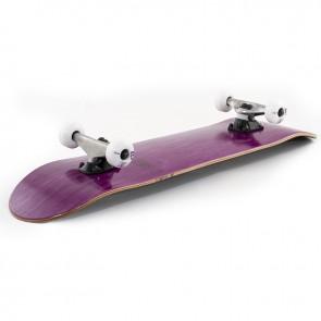 Enuff Logo Stain Purple 7.75 complete skateboard