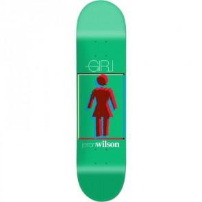 Girl Wilson Modern OG 8.0 skateboard deck