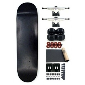 Moose Blank Full Black BSB Complete skateboard