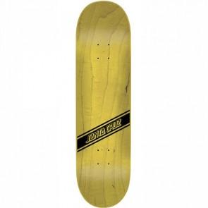 Santa Cruz Black Strip 8.3 Skateboard deck