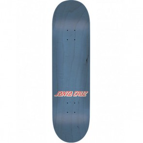 Santa Cruz Check Dot Blue 7.9 Skateboard deck