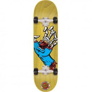 Santa Cruz Hybrid Hand 7.4 Mini Complete Skateboard